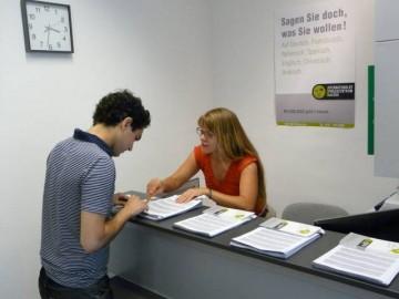 Anmeldung Sprachkurse ISD Freiburg